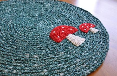 Applicazioni per tappeti in fettuccia