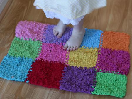 Tappeti In Tessuto Riciclato : Tappeti in tessuto riciclato fettuccia net