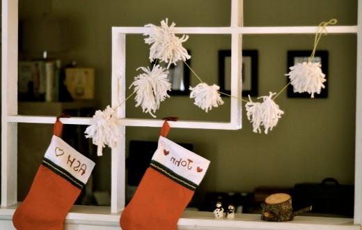 decorazioni nataliezie in fettuccia